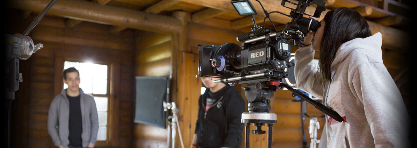 NYFA Miami filmmaking students shoot with a RED camera