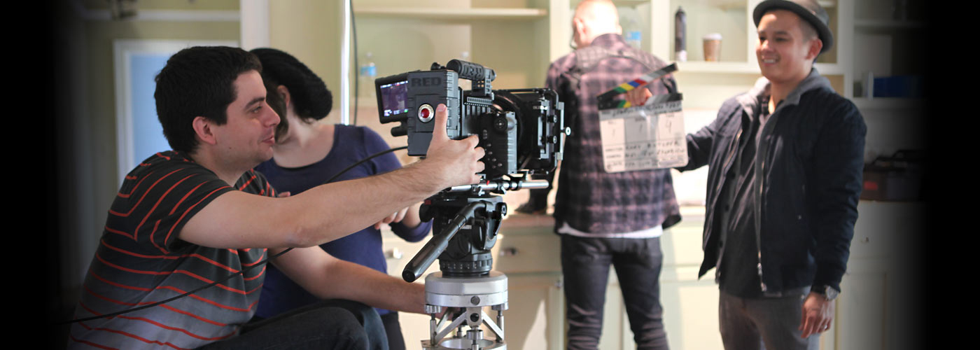 NYFA South Beach student shoots with RED camera in Miami