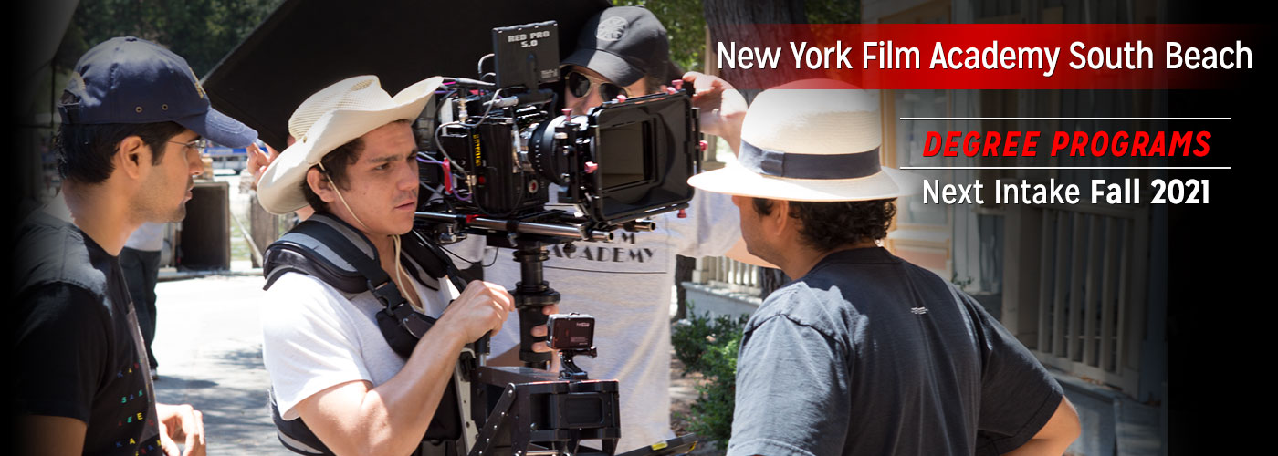 New York Film Academy South Beach BFA & MFA Degree Programs Intake January 2019